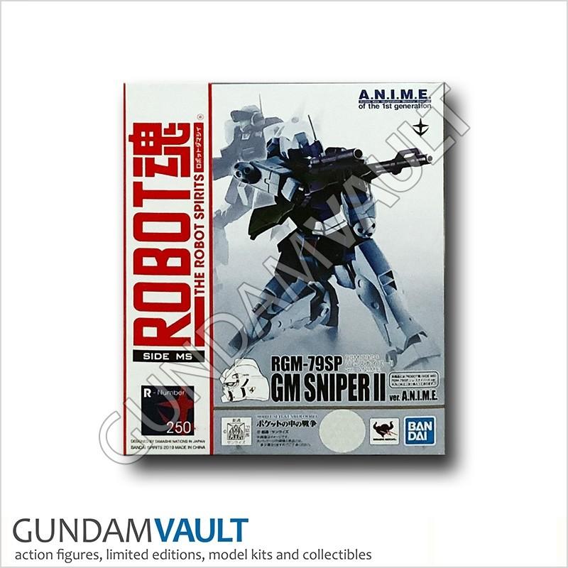 A.N.I.M.E figure Bandai Robot Spirits 250 RGM-79SC Gundam GM Sniper II ver
